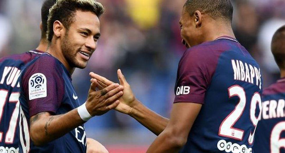 Paulo Dybala destacó las cualidades de Neymar y Mbappé cuando les enfrentó. (Foto: AFP)