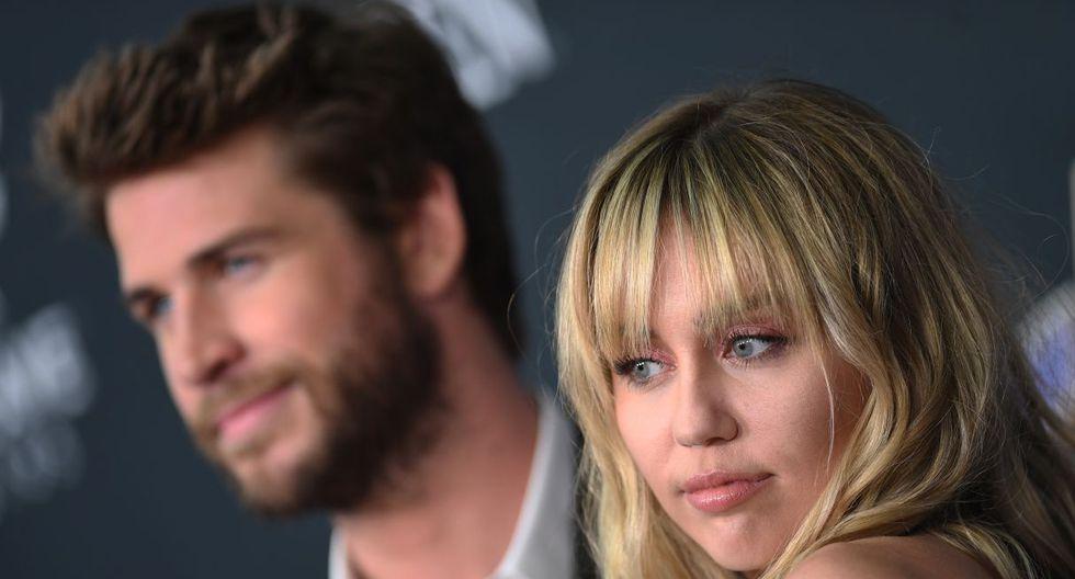 """Miley Cyrus estrenó su nuevo tema """"Slide Away"""", ¿Un mensaje de despedida para Liam Hemsworth? (Foto: AFP)"""