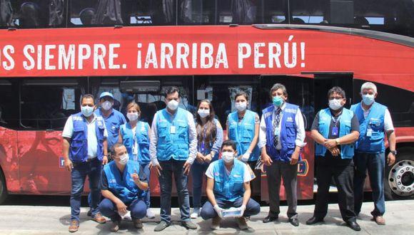 Bus de la Selección Peruana se usará para apoyar en la lucha contra el coronavirus. (Foto: FPF)