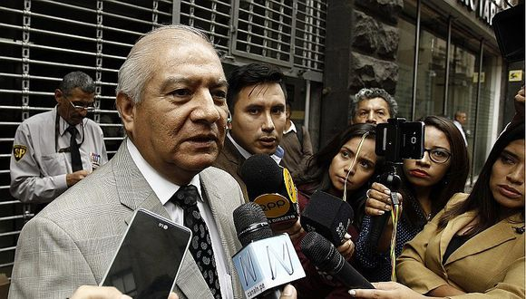 """Wilfredo Pedraza dijo sentirse """"indignado"""" por lo afirmado por el aspirante a colaborador eficaz Jorge Merino sobre supuesto favorecimiento a Nadine Heredia. (Foto: GEC)"""