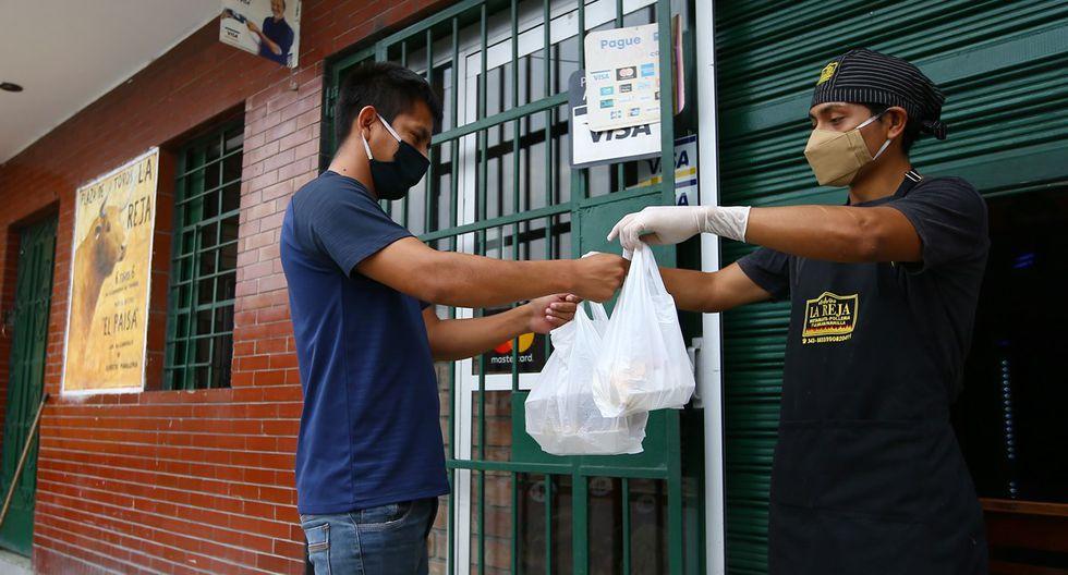 Los restaurantes tienen que acatar las disposiciones del Minsa con respecto al procedimiento de delivery. (Foto: Fernando Sangama/GEC)