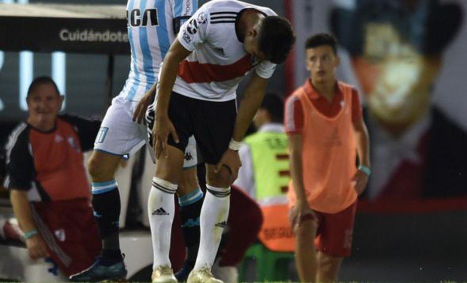 River Plate sufre sensible baja antes de su debut ante Alianza Lima por la Copa Libertadores