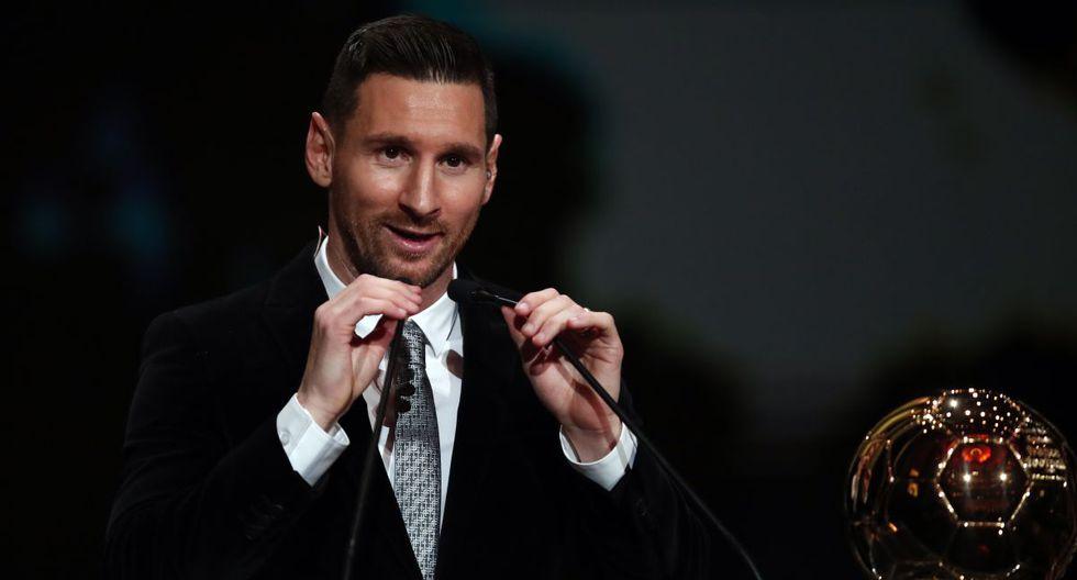Lionel Messi se impuso por votaciones al holandés Virgil van Dijk y al luso Cristiano Ronaldo. (Foto: AFP)