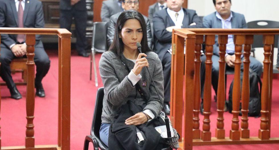 Melisa González Gagliuffi asegura que no rehuirá de la justicia. (Difusión)