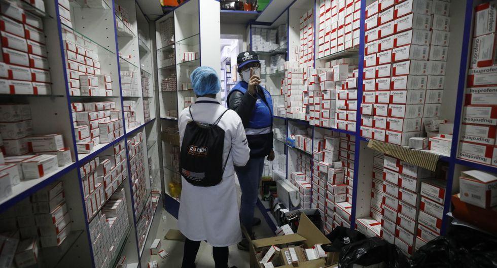 El Indecopi va a colaborar con la fiscalización remota de farmacias. (Foto: Diana Marcelo / GEC)