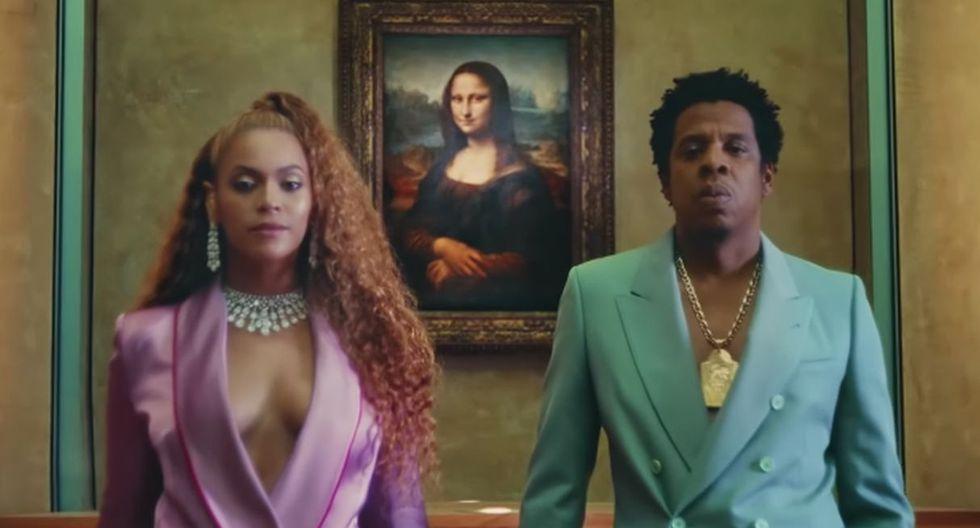 Beyoncé y Jay-Z grabaron un videoclip en las instalaciones del museo Louvre. (Foto: Captura de YouTube)