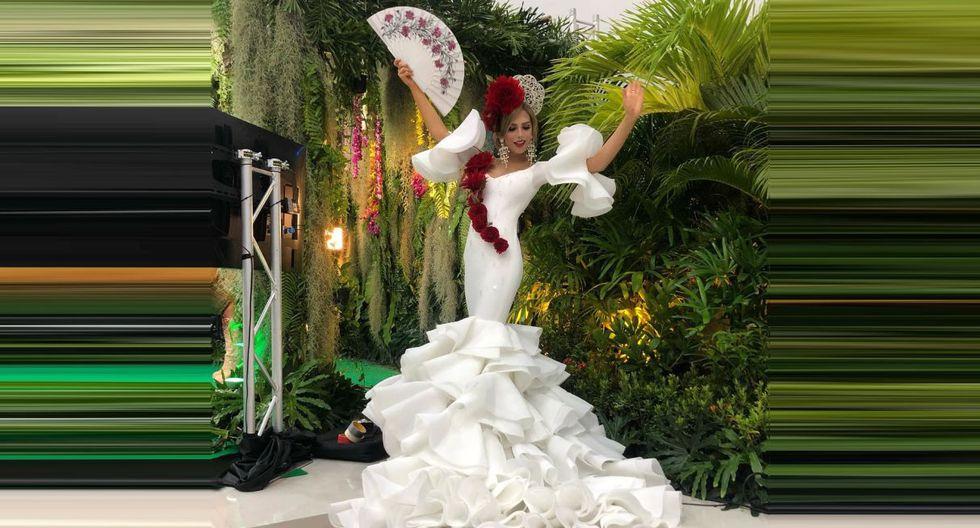 Ángela Ponce explica el significado del traje típico que lució en el Miss Universo 2018. (Foto: @angelaponceofficial)