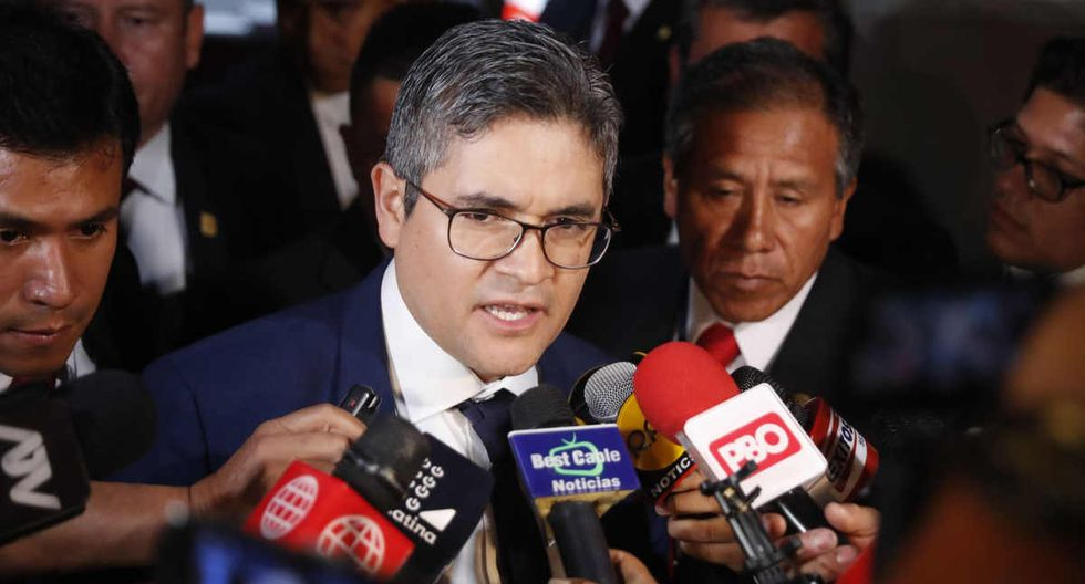 José Domingo Pérez. (Fuente Andina)