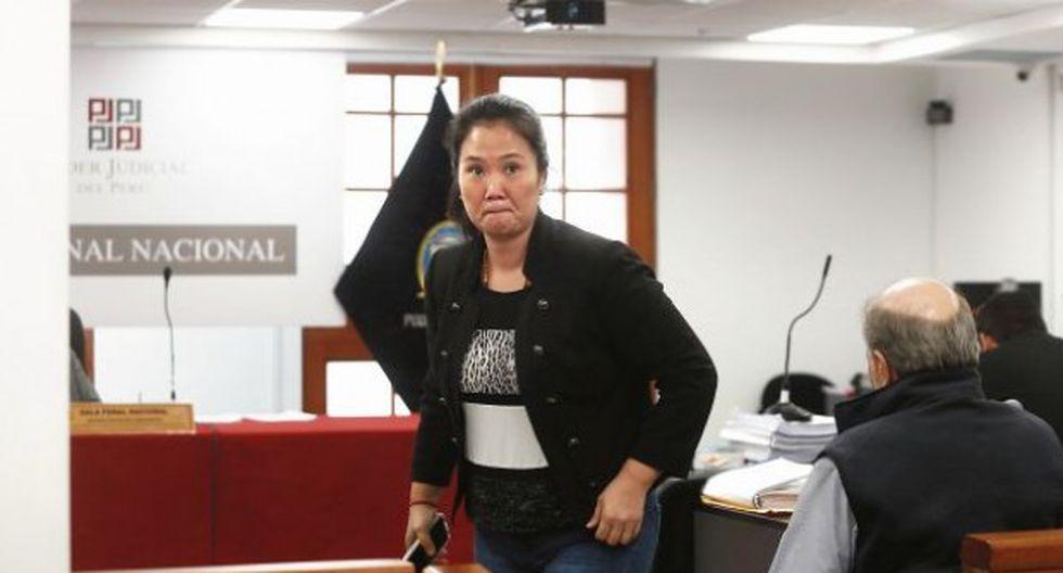 Keiko Fujimori cumple una orden de 18 meses de prisión preventiva en el penal Anexo Mujeres de Chorrilos. (Foto: GEC)