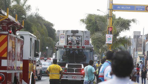Rescatan a un total de seis personas (Foto: Perú21)