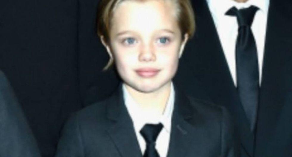 Shiloh, hija de Brad Pitt y Angelina Jolie.
