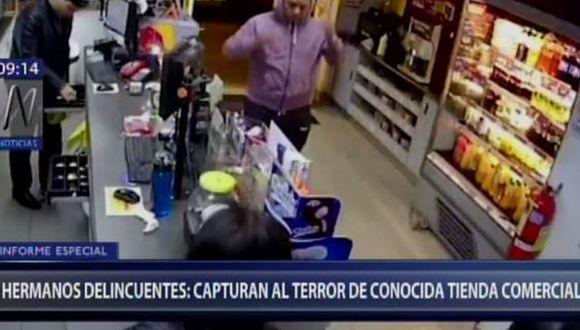 Hernán y Michel serán denunciados por el delito de robo agravado. (Foto: Captura/Canal N)