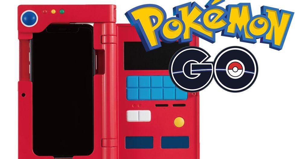 Esta es la nueva funda que convierte tu smartphone en una Pokédex de Pokémon GO. (Foto: Bandai)