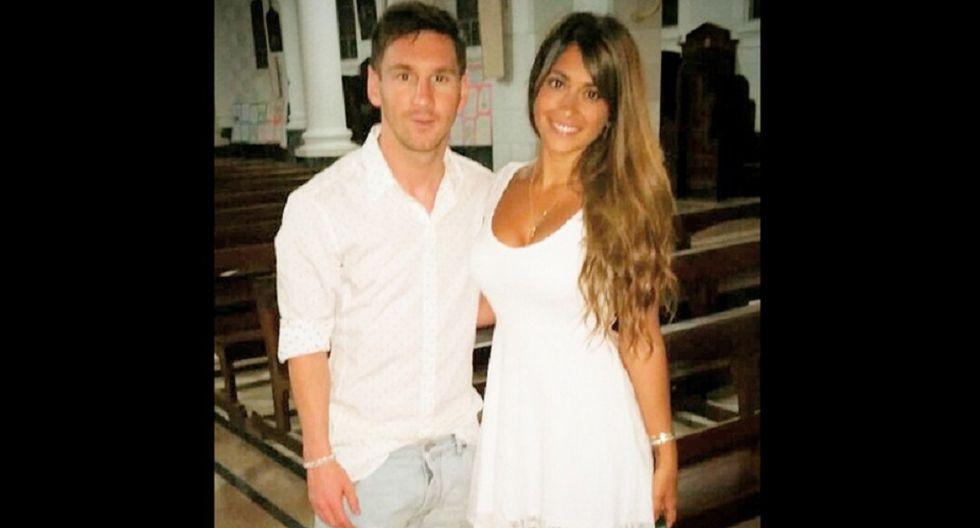 Antonella Rocuzzo, pareja de Lionel Messi.  (Foto: Instagram)