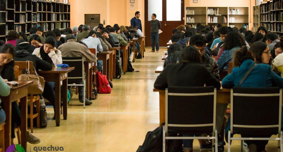 El taller de quechua se desarrollará en la sede de la Biblioteca Nacional ubicada en el Centro de Lima. (Quechua Para Todos/Facebook)
