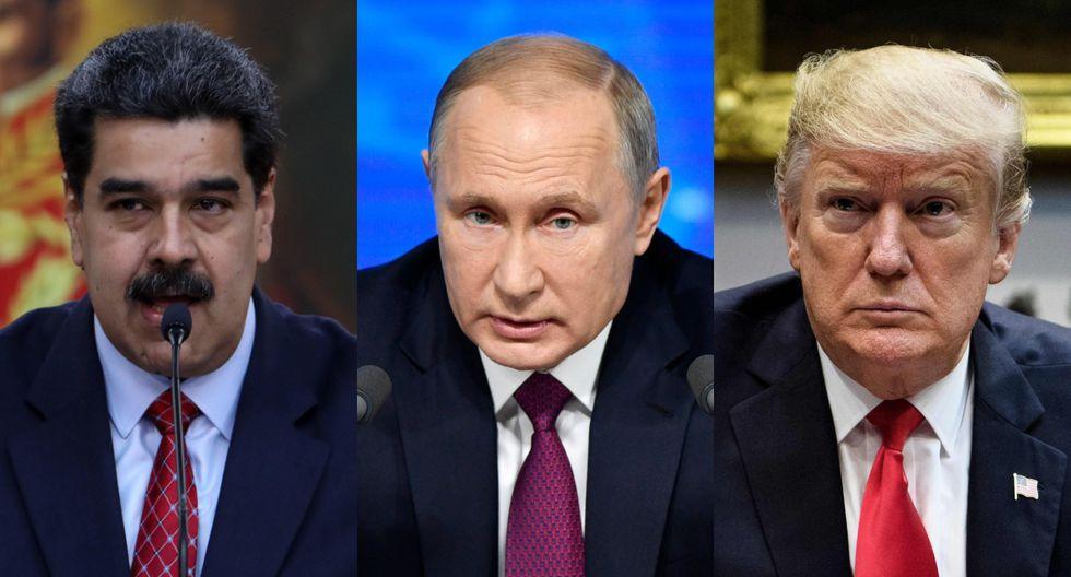 Más de 50 países, con Estados Unidos a la cabeza, respaldaron al presidente de la Asamblea Nacional, Juan Guaidó, mientras que China y Rusia dieron su apoyo a Maduro. (Foto: AFP)
