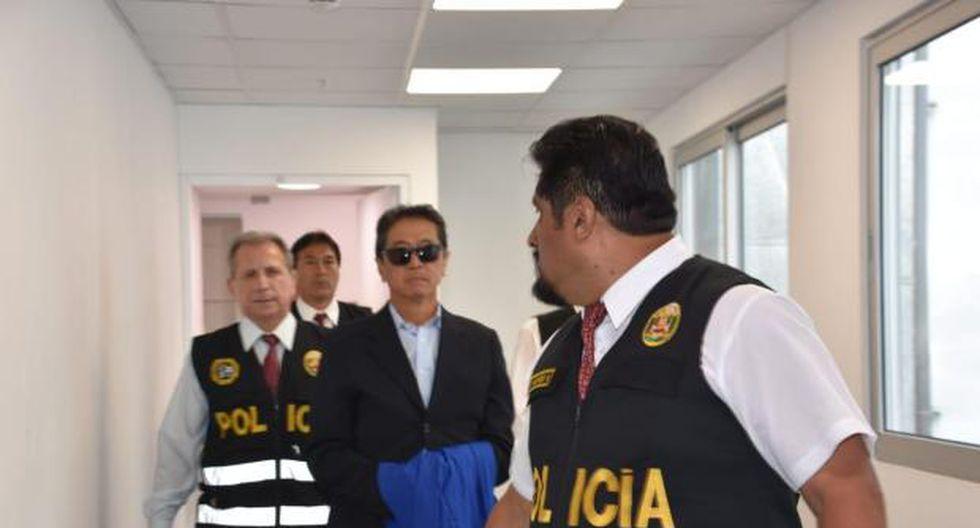 Jaime Yoshiyama cumple orden de 36 meses de prisión preventiva desde marzo de este año. Foto: Poder Judicial)