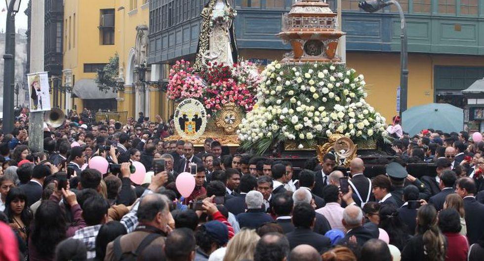 La procesión recorrerá varias calles del Centro de Lima. (USI)