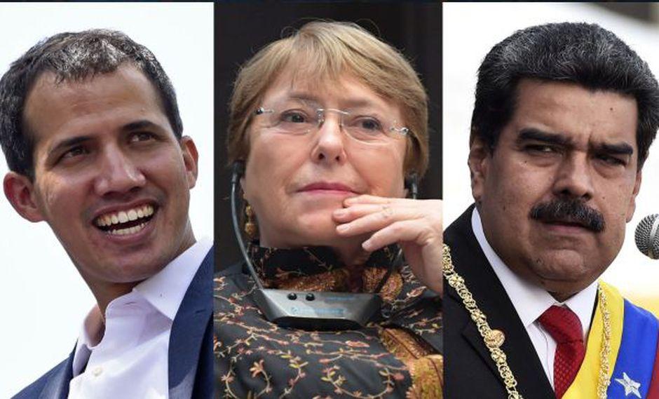 Michelle Bachelet llega a una Venezuela azotada por una grave crisis