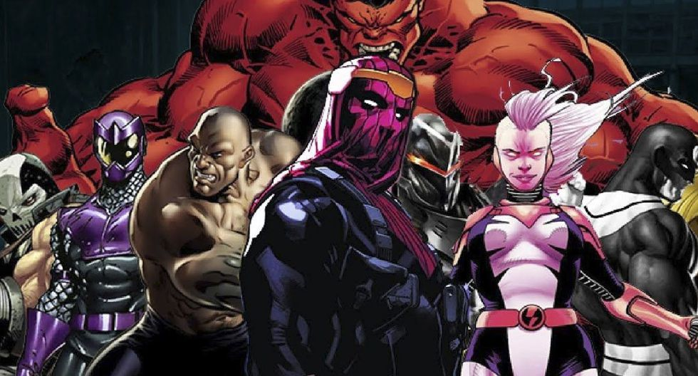 ¿Quiénes son los Thunderbolts de Marvel?  (Foto: Marvel Comics)