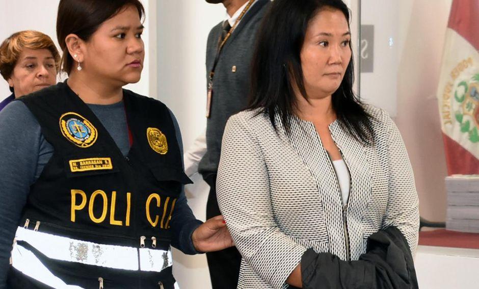 Keiko Fujimori cumple una orden de prisión preventiva desde el 31 de octubre del 2018. (Foto: Poder Judicial)