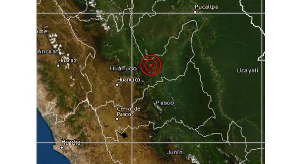 Las autoridades locales del Instituto Nacional de Defensa Civil (Indeci) aún no han reportado daños personales ni materiales a causa del sismo, que ocurrió esta tarde. (Foto: IGP)