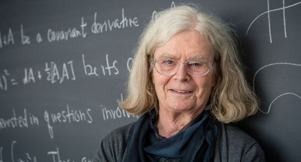 Karen Uhlenbeck recibió el Premio Abel 2019 de matemáticas. (AFP)