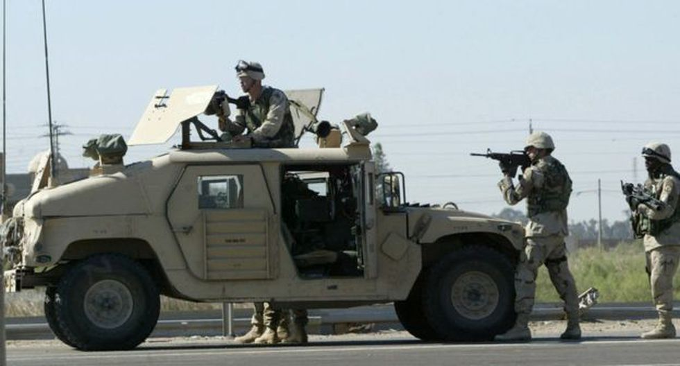 Estados Unidos tiene tropas desplegadas en Irak. Foto: EPA, vía BBC Mundo