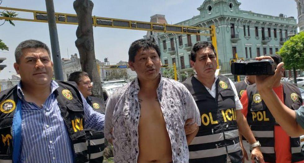 Elmo Ramos Acosta es sindicado de ser el presunto extorsionador contra el burgomaestre del mencionado distrito. (Foto: Joseph Ángeles/GEC)