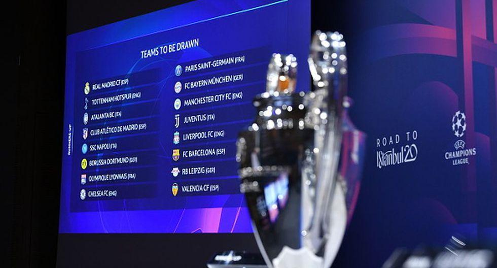 ¡Ya tenemos octavos de final! Real Madrid vs. Manchester City y los emparejamientos por Champions League. (Getty)