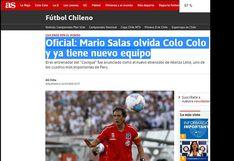 Así informan en Chile la llegada de Mario Salas a Alianza Lima