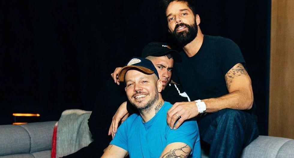 """Ricky Martin, Bad Bunny y Residente se reúnen en su nueva canción """"Cántalo"""". (Foto: Instagram)"""