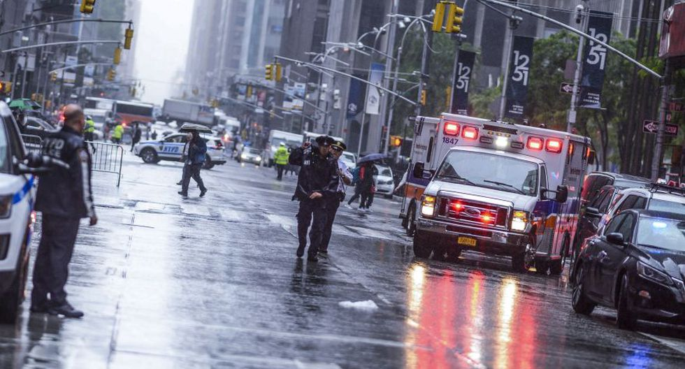 Los hechos ocurrieron cerca de Times Square, en Nueva York, Estados Unidos. (Foto: AFP)