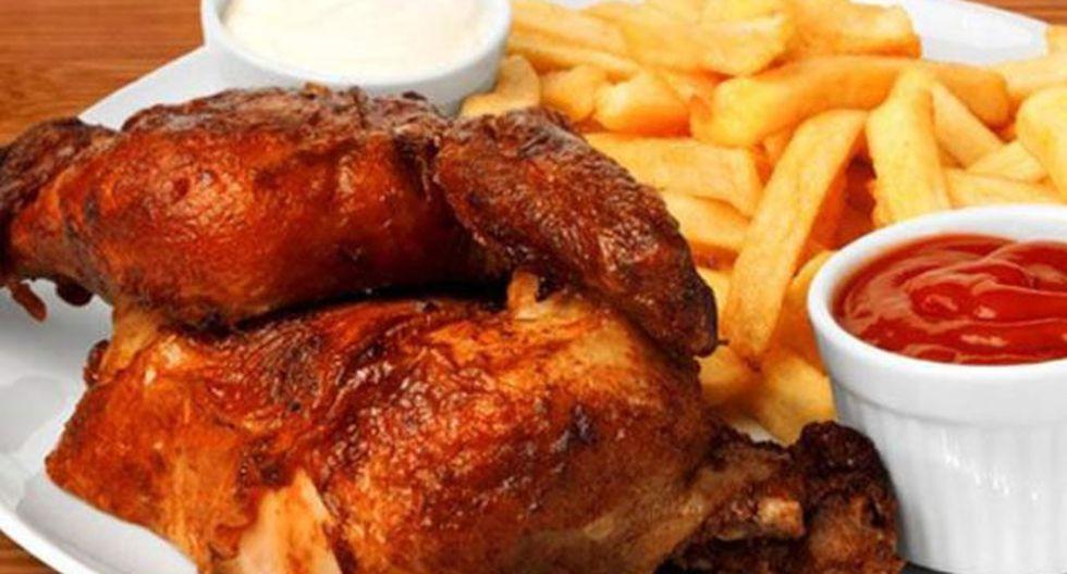 Pollo a la Brasa, una de las comidas favoritas de los peruanos.