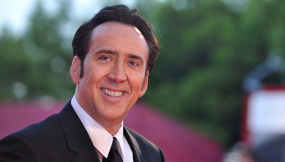 Película sobre Nicolas Cage protagonizada por el mismo actor estrenará en 2021. (Foto: AFP)
