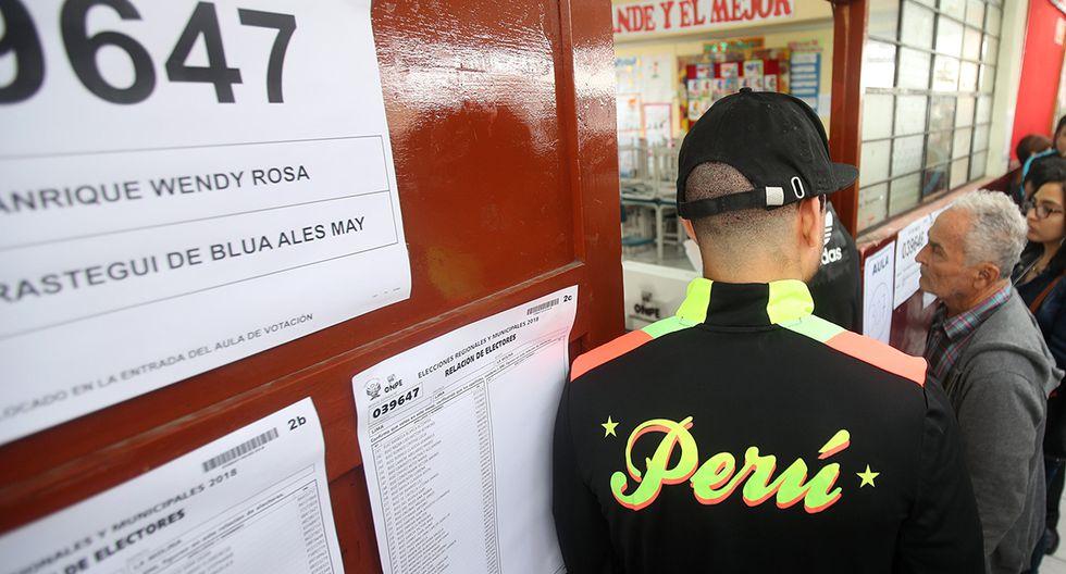 El 26 de enero se realizarán las Elecciones 2020 en el Perú y en diferentes partes del mundo, donde existan electores peruanos empadronados. (Foto: Juan Ponce Valenzuela/GEC)