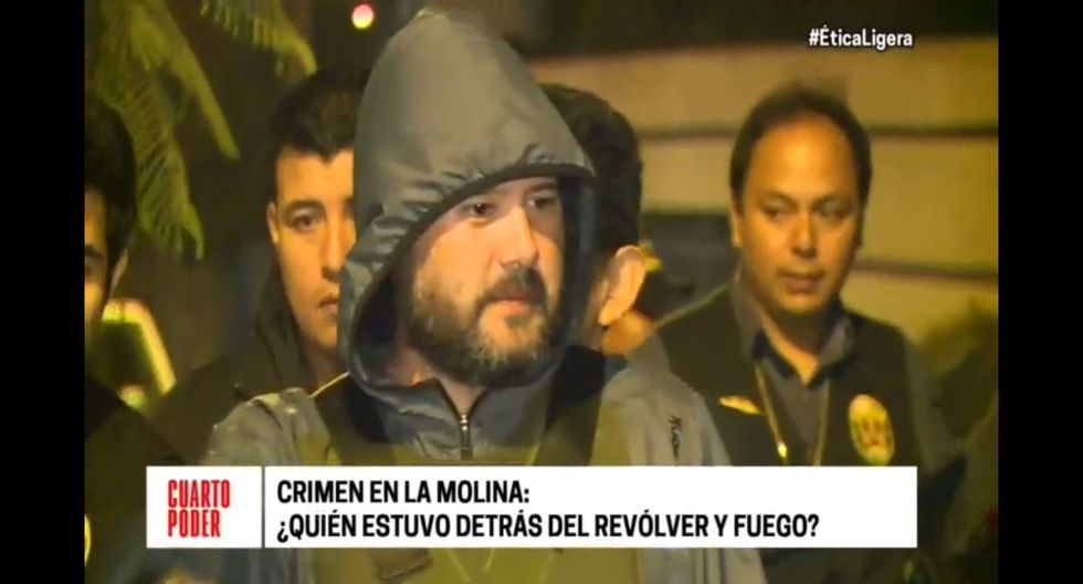 Vicente Orsero es el presunto autor material del triple asesinato en La Molina. (Captura: Cuarto Poder)