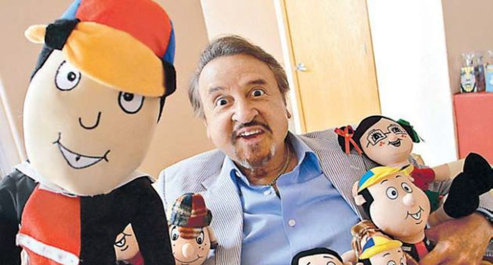 Carlos Villagrán, con los cachetes inflados de toda la vida, recibió a Publimetro en su casa de México D.F. (Foto: Alfredo Moya)