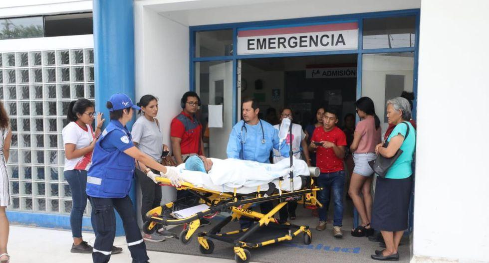 Los heridos fueron atendidos en hospitales del Minsa y EsSalud. (Difusión)