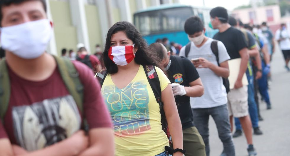 Todas las personas que salgan a la calle tendrán que usar mascarillas. (Foto: GEC)