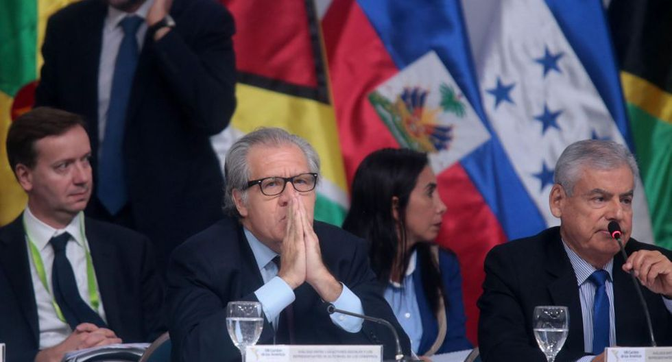 El jefe de la OEA señaló que no se puede descartar la opción de la intervención militar.