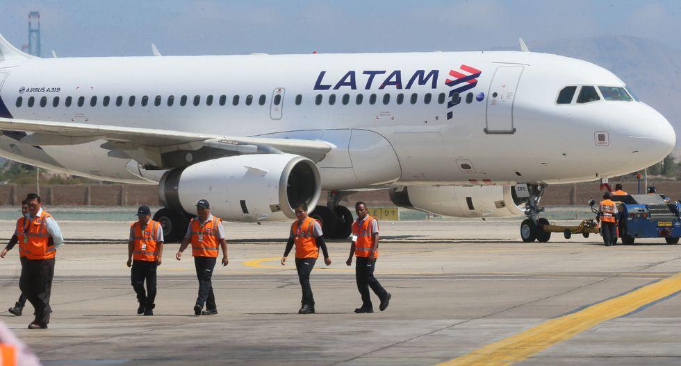 Los vuelos que planea cubrir Latam estarán sujetos a disponibilidad de la capacidad de sus aviones. . (Foto: GEC)