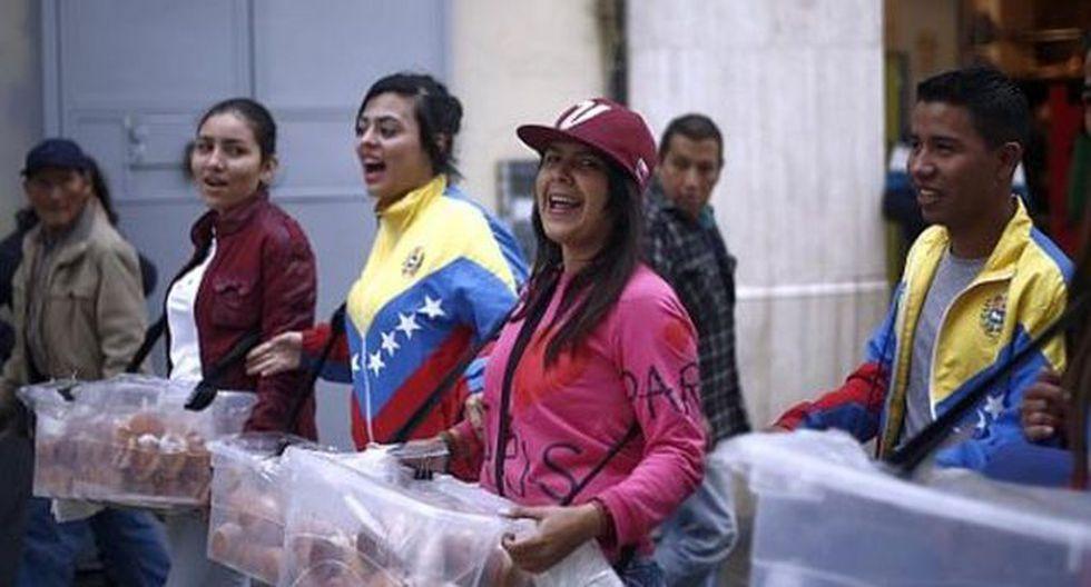 Los venezolanos han llegado al Perú por la dura situación que se vive en su país. (USI)