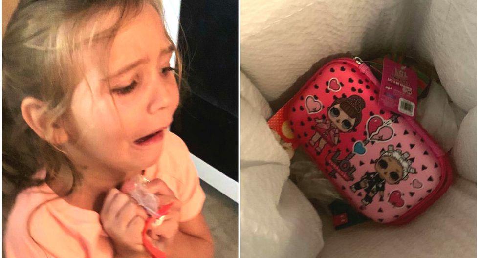 Se viralizó en Facebook la reacción de una madre ante el capricho de su hija. (Foto: Facebook/Haley Hassell)