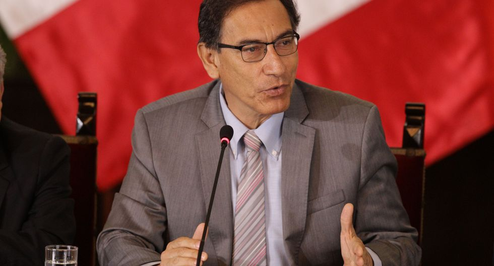 Presidente Vizcarra afirmó que se mantiene la posición de diálogo a fin de superar el conflicto social (Foto: GEC)