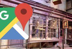 Google Maps tiene una entrada secreta que da al callejón Diagon de Harry Potter
