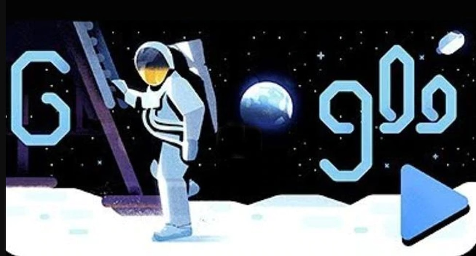 El doodle de Google celebra uno de los más grandes acontecimientos más grandes de la historia de la humanidad. (Fotos: Google)