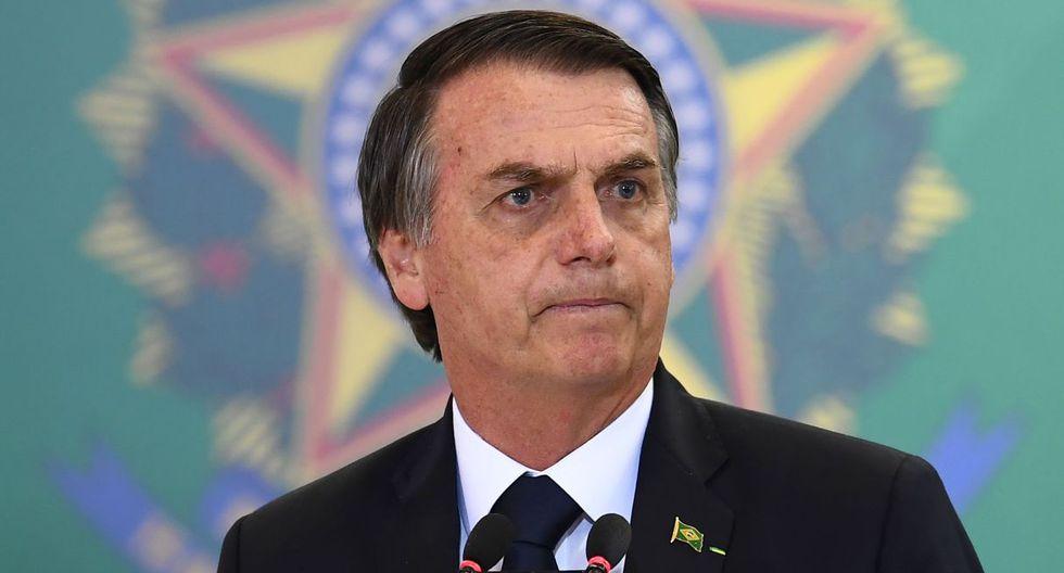"""Bolsonaro insistió en que las ONG's que operan en la Amazonía """"representan intereses ajenos"""" a Brasil. (Foto: AFP)"""