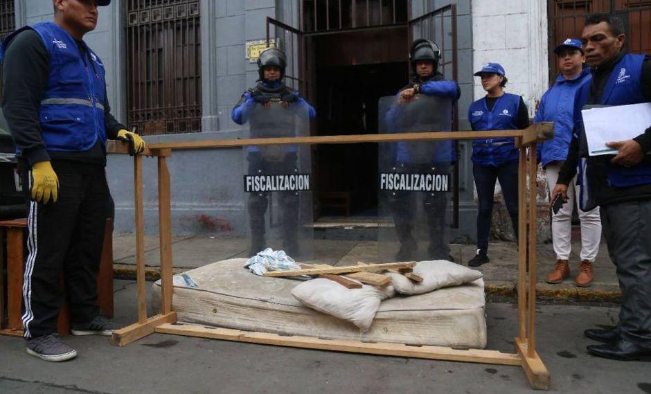 MML interviene el pasaje Peñaloza tomado por la prostitución