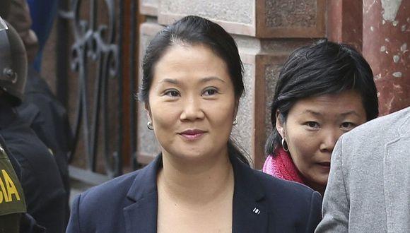 """La lideresa de Fuerza Popular, Keiko Fujimori, expresó su """"profundo dolor"""" ante el regreso de su padre al penal de Barbadillo. (Foto: GEC)"""
